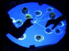 THE INSPIRATION BEHIND MY DESIGN Reactable -  Bjork - Collaborative Tangible Interface An amazing piece of technology