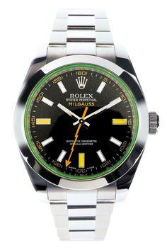Rolex Watches | Rolex Milgauss 116400 GV Specs Pictures - Watches News