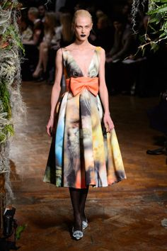 Giles Fall 2015. See the best looks from London Fashion Week, here: