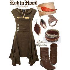 """Robin Hood"" by purplesugarrrush on Polyvore - Halloween Inspirations - Costume"