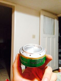 Should look like this Soda Can Stove