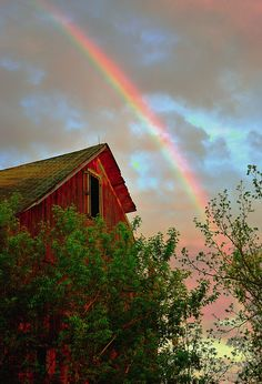 ** To never destroy the world by flood again is the message of the rainbow.