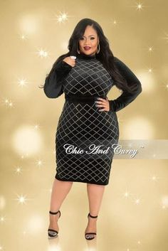 e9cd0339f8 Final Sale Plus Size BodyCon Dress with Top Cutouts in Burgundy. Chic And  Curvy