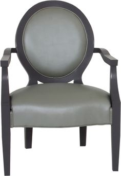 Norwalk Furniture Brianna Chair In Leather.