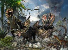 Torosaurus dinosaur