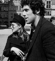 With Elliot Gould