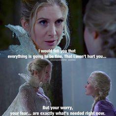 """Snow Queen and Elsa - 4 * 5 """" Breaking Glass. """""""