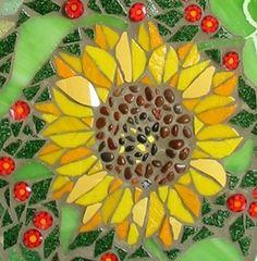 Sunflower #mosaic #flowers #flora