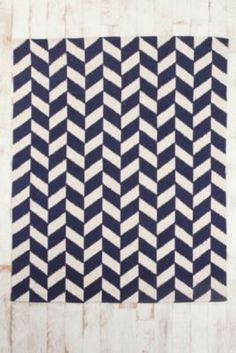 Herringbone Handmade Rug • Urban Outfitters