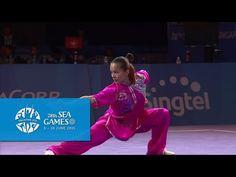 Wushu - Women's Optional Changquan (Day 2) | 28th SEA Games Singapore 2015 - YouTube