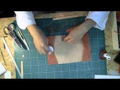 YouTube : recouvre livre en cuir a adapter au format livre d'or