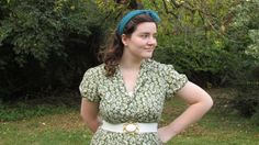 1940s inspired outfit
