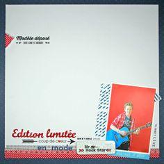 """Page Tacha avec """"Edition linitée"""" écrit à l'aide du Glossy Zibuline"""