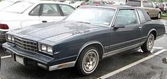 My second car.... first one I would admit lol 1981 Chevy Monte Carlo