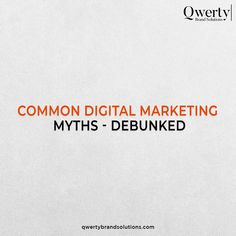 Myths could harm your business growth. Explore the deadly mistakes, learn how to avoid them, and lead your business to success. . Visit Us - . #qwertybrandsolutions #QBS #digitalmarketingbusiness #digitalmarketing #digitalmarketingmyths #mythsvsfacts #mythsandfacts #mythsdebunked #searchengineranking #seotricks #seoexperts #brandinghelp #brandingadvice #smallbusinessmarketing #organicreach #writersociety #contentcreators #contentcreation #sensitivecontent #copywriter #contentwriting Digital Marketing Business, Top Digital Marketing Companies, Copywriter, Web Development, Mistakes, Success, Branding, Facts, Explore
