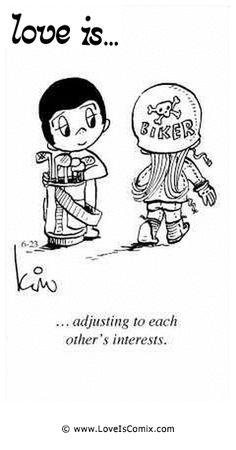 El amor es ... para adaptarse a cada interese del otro.