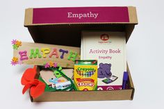 The Empathy Kit is filled with interactive activities for kids to understand their feelings and the feelings of others.