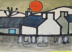 Percy Kelly, Boy could he draw -- simple, but powerful -- Cumbrian streets and landscapes. This was found in a shoebox after his death. Gallery Owner Chris Wadsworth catalogued the works and has put Percy on the map ....