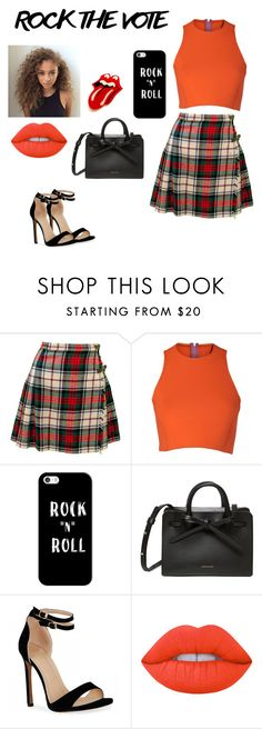 """""""Rock n roll"""" by matine-dernoss ❤ liked on Polyvore featuring Sydney-Davies, Casetify and Lime Crime"""