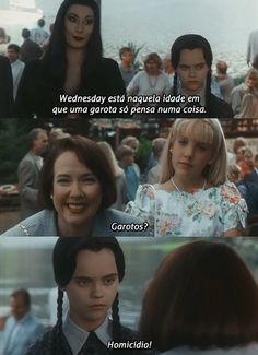 When she had her priorities straight. 19 Times Wednesday Addams Was A Total Misandrist Addams Family Quotes, Addams Family Values, Mal Humor, Adams Family, Series Movies, Movie Quotes, Quotes Quotes, Movie Memes, I Laughed