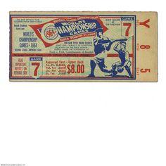 1964 Baseball World Series ticket stub Baseball Dugout, Twins Baseball, Baseball Tickets, Baseball Shoes, Baseball Stuff, Baseball Field, Baseball Cap, World Series Tickets, America's Favorite Pastime
