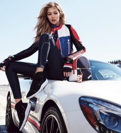 Shop Gigi Hadidi and Tommy Hilfiger Collection Races Fashion, Fast Fashion, Womens Fashion, Trendy Fashion, Estilo Gigi Hadid, Gigi Hadidi, Gigi Hadid Outfits, Best Photo Poses, Tumblr Fashion