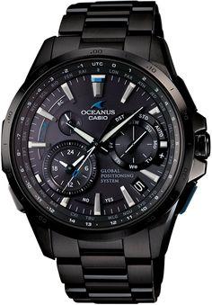 CASIO OCEANUS OCW-G1000B-1AJF GPS HYBRID WAVECEPTOR Men's WATCH