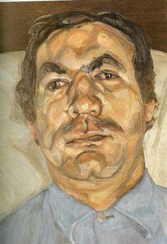 Freud, Lucian (1922- ) - 1968 Head of a Man