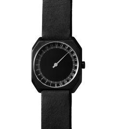 Slow Watch(スローウォッチ)のAll Black Vintag-BLACK(ウォッチ/watch)-Slow-Jo-24-13 詳細画像1