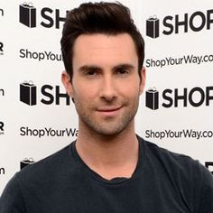 "Click to see his new ""do"". Adam Levine Dyes Hair Platinum Blonde"