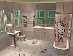 Hello Kitty Bathroom Hello Kitty Obsession Pinterest Hello