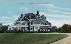 'Gardenside', the Frederick A. Snow residence built c. 1900.