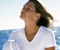 Exercícios de respiração e visualização para revigorar o corpo