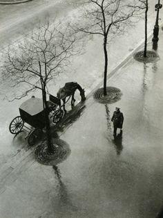 Boulevard Poissonnière, Paris by Roger Parry, 1943
