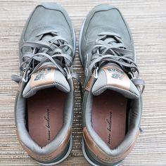 New Balance Metallic 574 Sneakers | Modish and Main