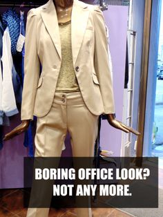 Boring Office Look? Not any more!