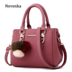 24610a7ba6f1 Buy Nevenka Leather Handbag Women Messenger Shoulder Bag Female Crossbody  Bags for Women Purses and Handbags Women Summer Bag 2018