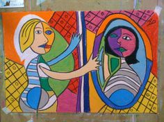 Girl in the Mirror - Picasso