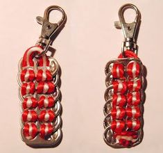 Nuevas Ideas, Diy, Personalized Items, Pop Tabs, Pop Cans, Aluminum Cans, Recycled Tin Cans, Upcycling, Tips And Tricks