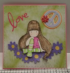 When I saw Challenge #266, Peace & Love, at Kraftin' Kimmie Stamps! it immediately made me thing of my oldest daughter.....so I had to create this and enter it here  http://kraftinkimmiestamps.blogspot.com/2015/02/challenge-266-peace-love.html