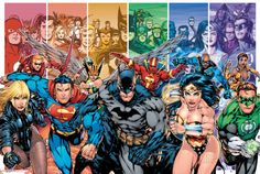 DC Comics Justice League Characters Prints at AllPosters.com
