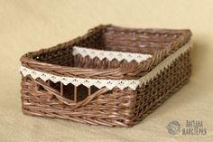 Купить Корзина для специй - корзина, для специй, для хранения, короб, плетеная, коричневый, для приправ, органайзер