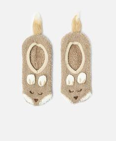 Chaussettes Fluffy renards - OYSHO