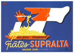 Pates Supralta Posters by Pierre Lacroix at AllPosters.com