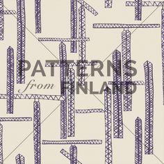 Maria Tolvanen: Työn alla – Työmaa #patternsfromagency #patternsfromfinland #pattern #patterndesign #surfacedesign #printdesign #mariatolvanen