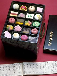 Japanese Sweets ...Wagashis at Toraya , Pâtisserie japonaise à Paris @ Hoosta Magazine
