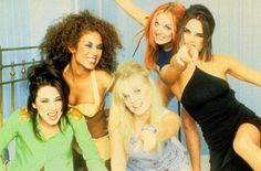 Spice Girls Photo: This Photo was uploaded by Find other Spice Girls pictures and photos or upload your own with Photobucket free image and vide. Posh Spice Hair, Girl Pictures, Girl Photos, Emma Bunton, Baby Spice, S Curl, Geri Halliwell, Girls World, Mel B