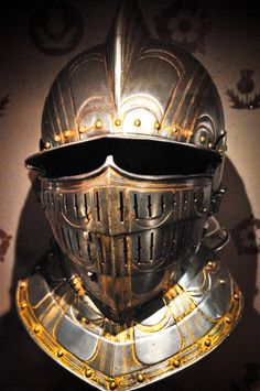 Armour Helmet at the Tower of London Museum by mbell1975, via Flickr