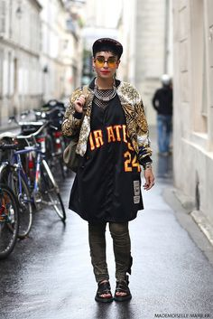 #MirandaBanana at #ParisFashionWeek Menswear day 4 #streetstyle #fashionblogger #PFW