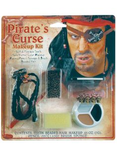 Check out Pirate Character Makeup Kit from Wholesale Halloween Costumes